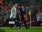 官方:梅西右臂骨折,伤缺三周,无缘国家德比