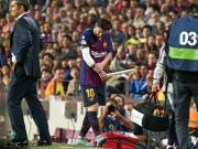 梅西职业生涯21次受伤;期间巴萨胜率六成