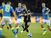 巴黎2-2那不勒斯,迪马利亚读秒扳平,因西涅、梅尔滕斯建功