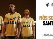 致敬辉煌!桑托斯2018/19赛季第二客场球衣发布!