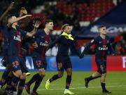 12胜,巴黎创五大联赛最佳开局