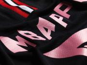 巴黎圣日耳曼 × Jordan联名特别版球衣印字展示