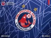 鲨鱼出没!韦拉克鲁斯2018/19赛季第三球衣发布!