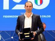 历史第一人,阿莱格里四获意大利最佳教练奖