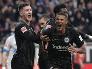 法兰克福成绩超过科瓦奇执教同期,也领先本赛季拜仁