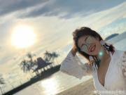 图集:女足国脚赵容马来西亚度假,比基尼尽显好身材