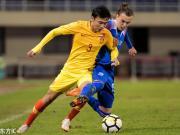 U21中国1-1冰岛U21两场不败,尹聪耀头球破门,郭全博乌龙
