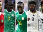 2018年BBC非洲足球先生5人候选出炉:萨拉赫、马内