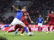 葡萄牙0-0客平意大利锁定小组第一晋级决赛,因莫比莱失单刀