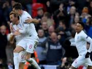 英格兰2-1逆转克罗地亚进入半决赛,凯恩献绝杀