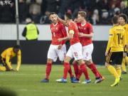 比利时两球领先2