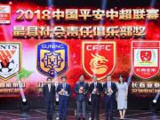中超本年度最具社会责任俱乐部揭晓,共4家俱乐部获奖