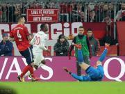 领先两球被绝平,拜仁3-3杜塞尔多夫,穆勒双响终结9轮球荒