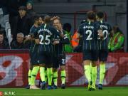 曼城4-0客胜西汉姆联各项赛事八连胜,萨内、斯特林双双传射
