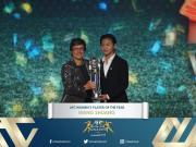 中国骄傲!王霜获亚洲足球小姐