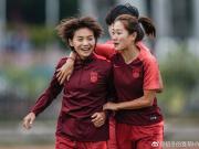 王霜获奖,女足队员送去祝贺