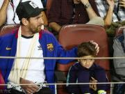 梅西:受伤让我能陪儿子看球