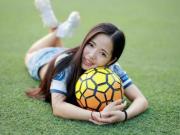 为了C罗,奔波万里到西班牙实习的女球迷吴显怡