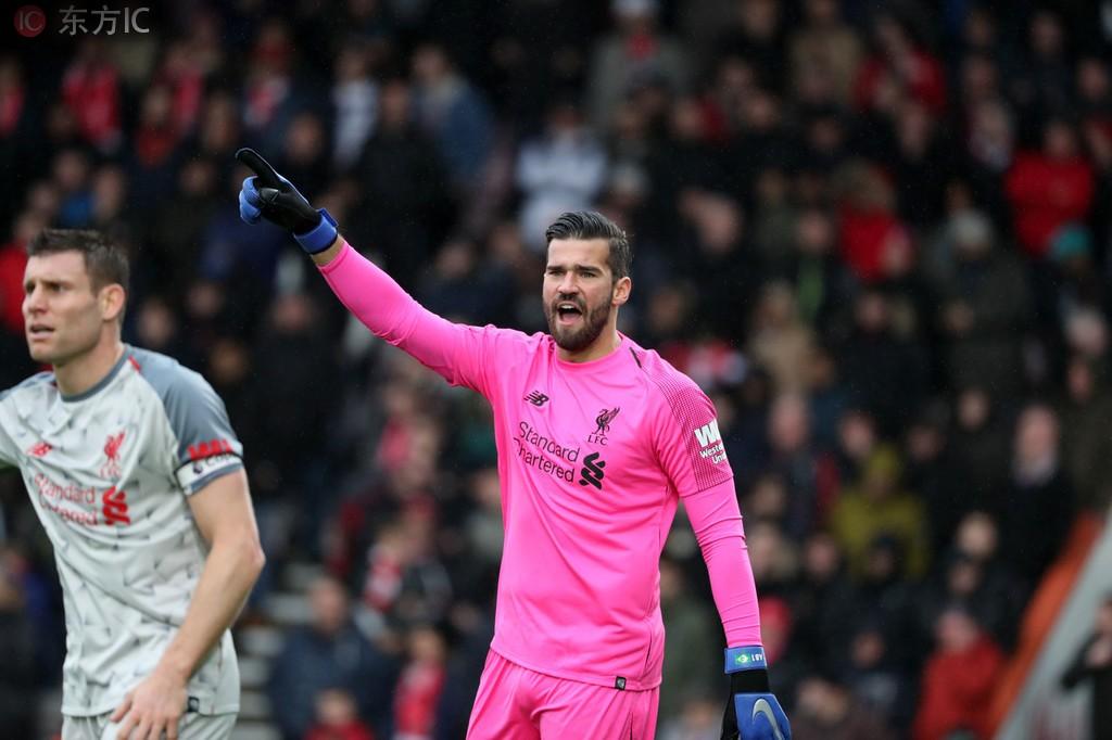 队史首位阿利松加盟利物浦后开局16场英超不败