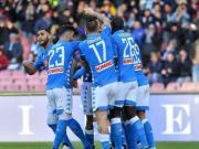 那不勒斯4-0弗罗西诺内,米利克梅开二度,欧纳斯世界波建功