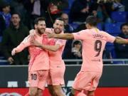 赛后分析:西班牙人vs巴萨
