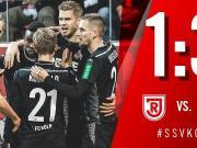 德雷克斯勒梅开二度,科隆客场3:1雷根斯堡取四连胜