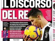 C罗:梅西也来意大利踢球吧