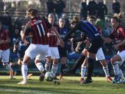 女足意大利杯:国际米兰3-5AC米兰