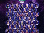 欧足联年度最佳阵评选开启,官网一度被球迷刷爆