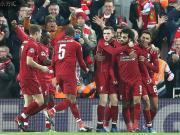 利物浦1-0那不勒斯小组第二出线,萨拉赫小角度破门制胜