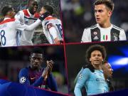 欧冠周最佳进球候选:登贝莱长途奔袭;萨内任意球世界波