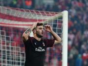 3-1惨遭失利,米兰客负奥林匹亚科斯无缘晋级淘汰赛