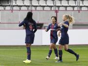 巴黎女足7-1梅斯女足取联赛4连胜,王霜传射,卡托托帽子戏法
