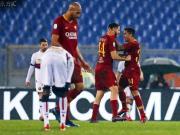 罗马3-2逆转热那亚取近6场各项赛事首胜,奥尔森黄油手送礼