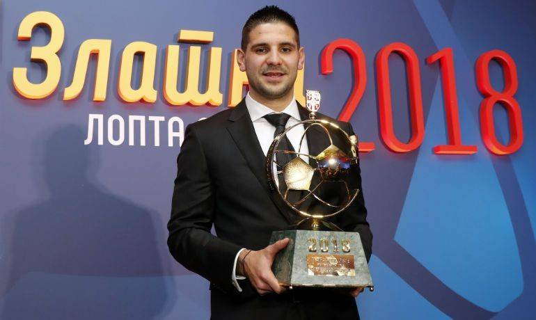 撒花,米特罗维奇当选塞尔维亚足球先生