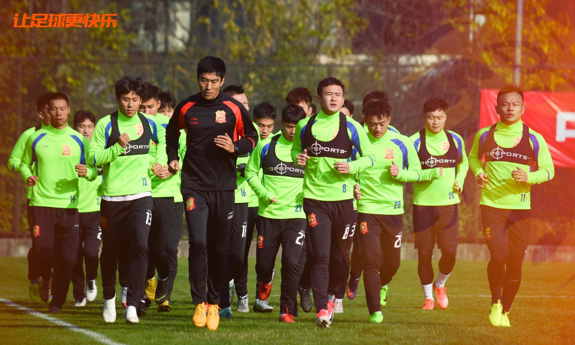 集结丨武汉卓尔队全面备战中超新赛季