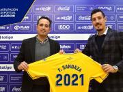 官方:桑达扎加盟西乙阿尔科孔