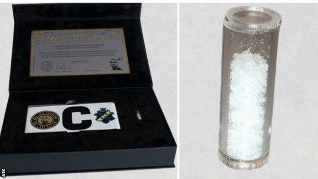 疯狂!瑞典球队出售老队长DNA作为圣诞礼物