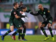 五大联赛综述:莱加内斯1-1十人塞维利亚;奥格斯堡2-3狼堡