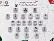阿联酋亚洲杯名单:奥马尔无缘