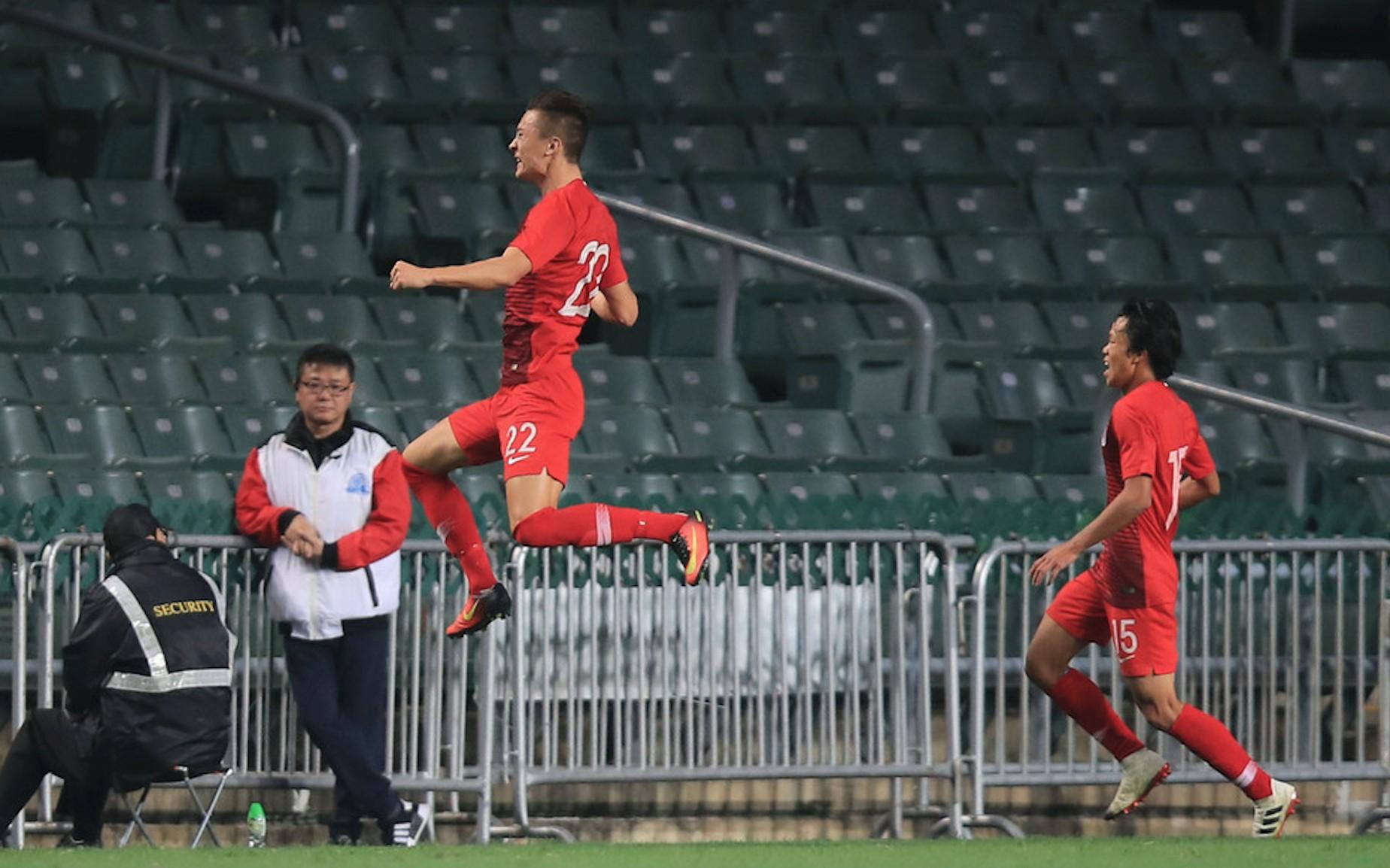 实现逆转,省港杯香港卫冕成功