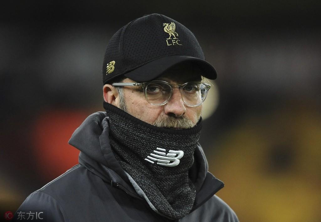 英超12月份最佳教练:克洛普