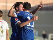 2-2踢平亨克,乌特和绍普夫取得进球