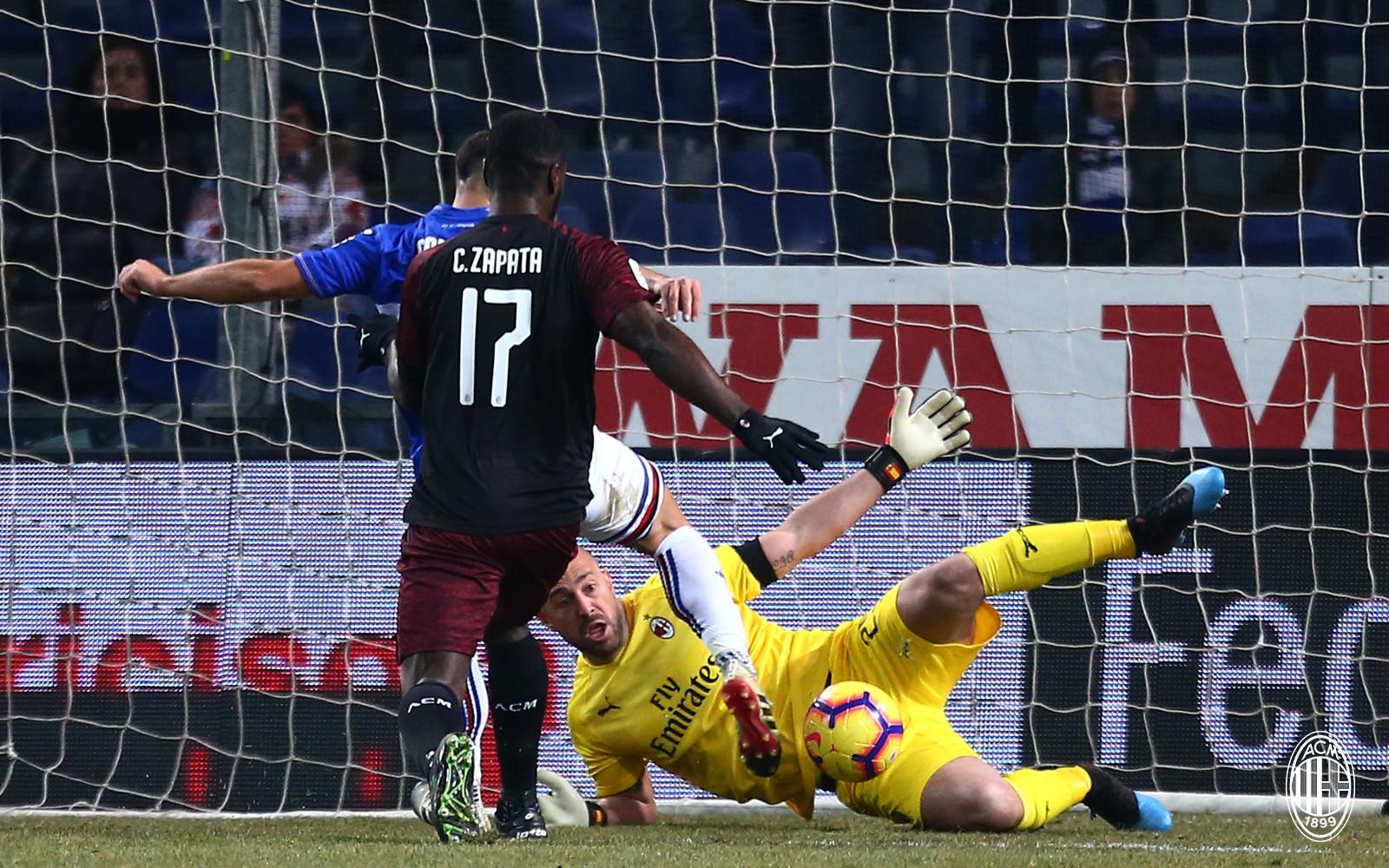 库特罗内加时赛梅开二度,米兰客胜桑普多利亚你怎么看?