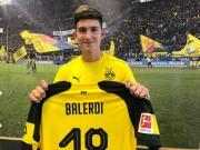 官方:多特蒙德签下巴列尔迪