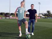 哈维:本想基米希来巴萨,他是拜仁和德国队的未来
