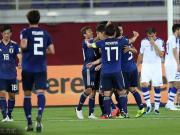 日本2-1逆转获小组第一,乌兹别克战澳大利亚,塩谷司世界波