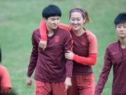 图集:女足姑娘备战训练,20日决赛将战韩国