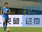 #球员数据巡展#2018赛季,黄政宇在中超联赛共.