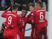 拜仁客场3-1霍芬海姆取联赛六连胜,格雷茨卡两